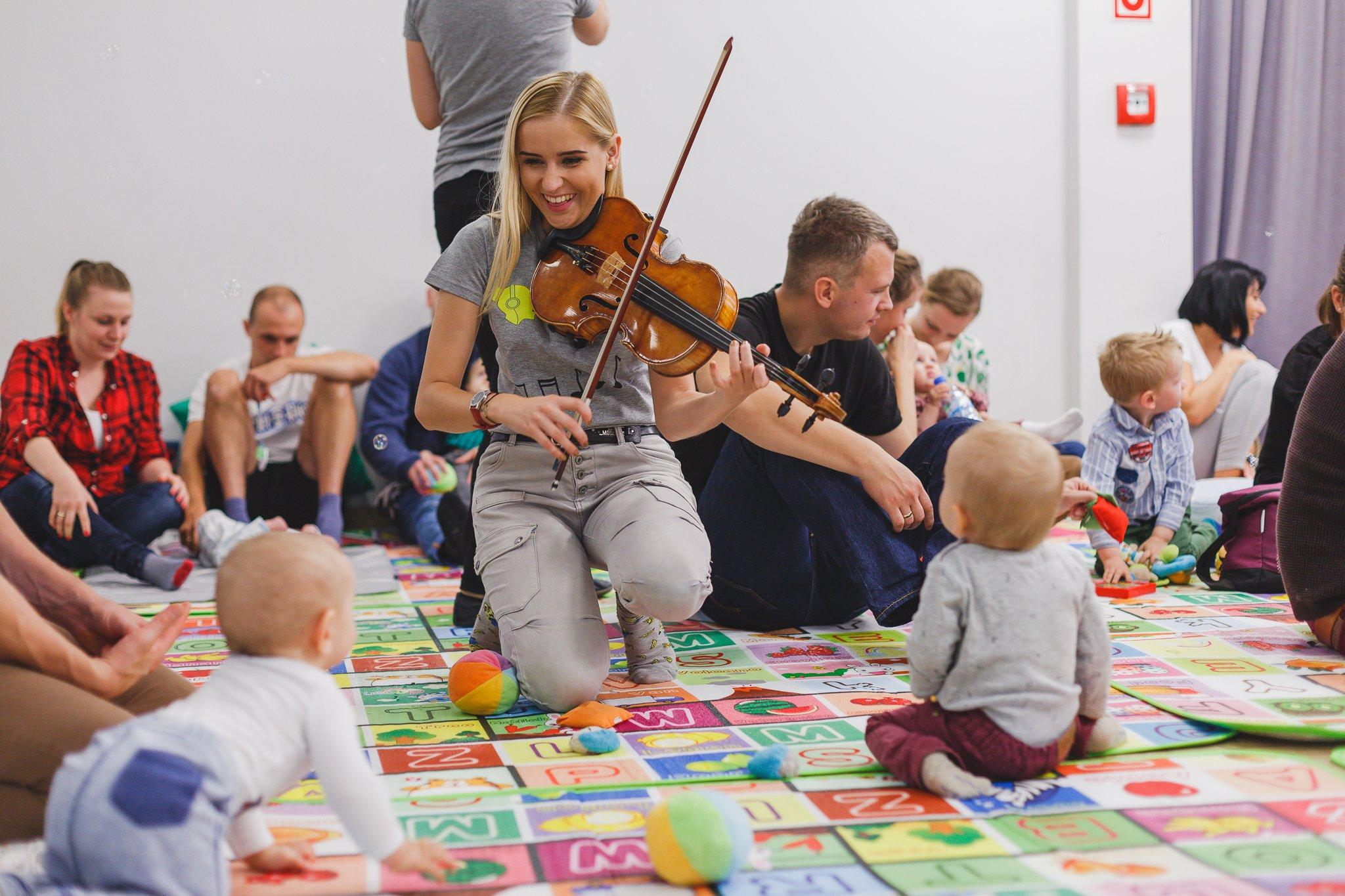 Koncert Gordonowski dla małych dzieci w wieku 0-5 lat z rodzicami