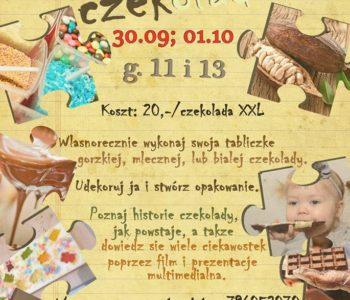 Jesienne warsztaty czekoladowe dla dzieci w Stopklatce