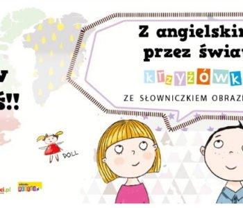 Z angielskim przez świat krzyżówki dla dzieci