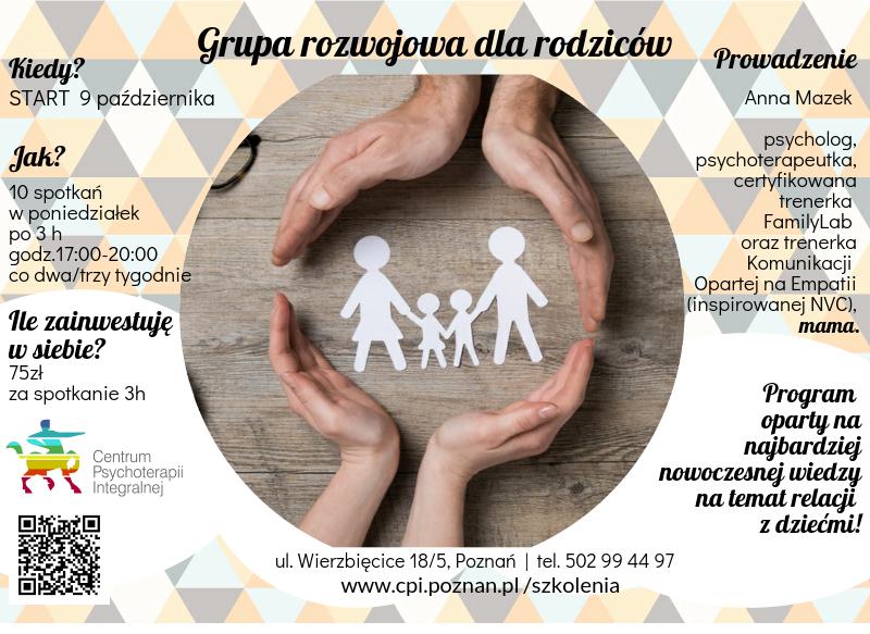 Warsztaty dla rodziców w Poznaniu