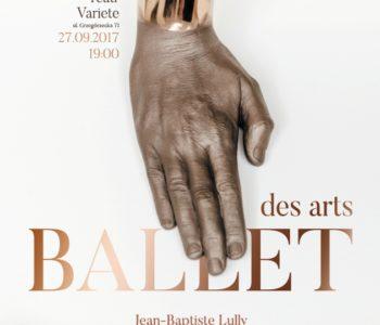 ballet des arts plakat