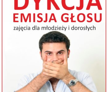 Warsztaty emisji głosu i dykcji w Nutka Cafe dla młodzieży i dorosłych w Warszawie