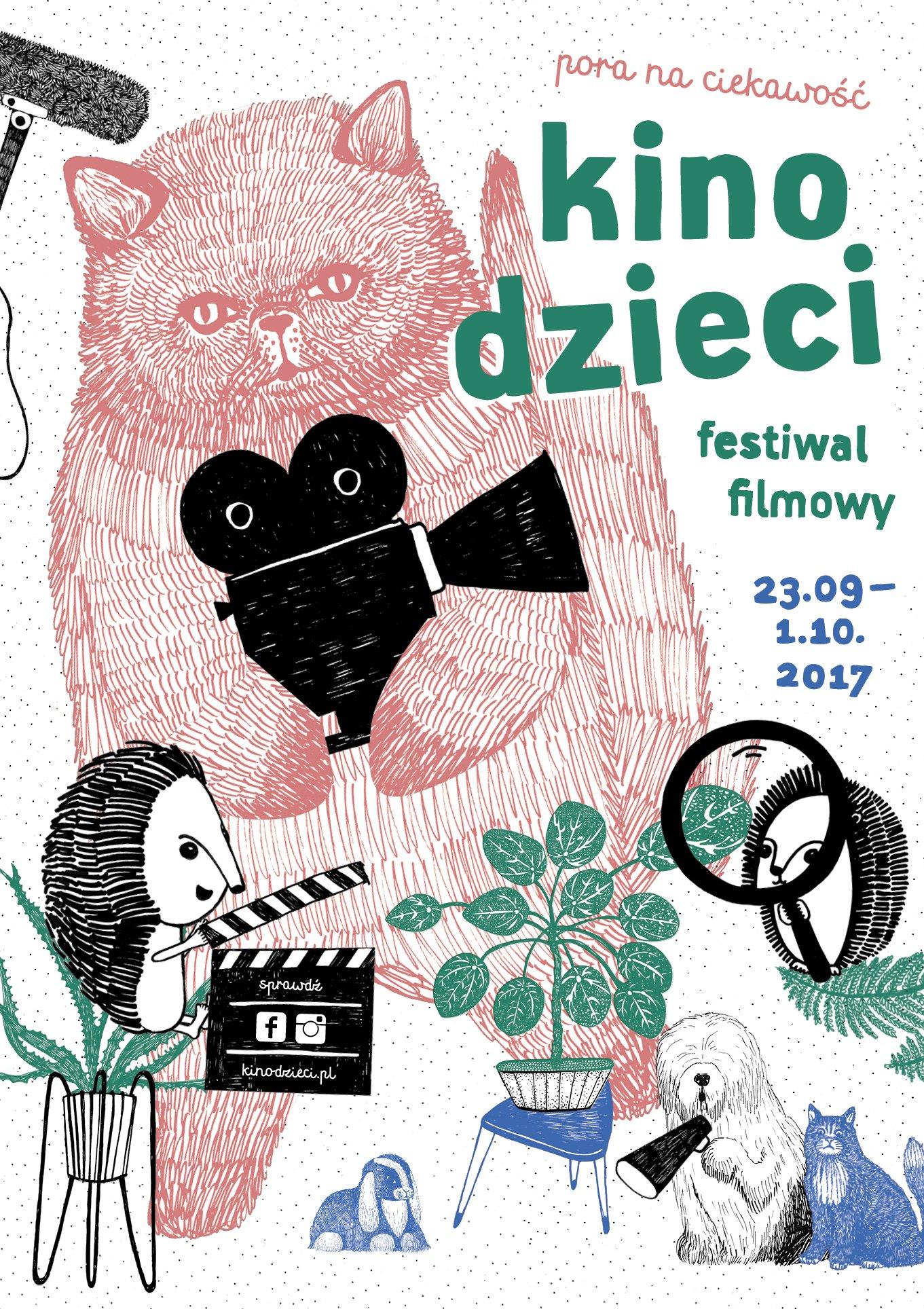 Kino dzieci 2017 plakat