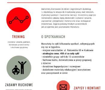 Gimnastyka Dyslektyka w Centrum Metody Krakowskiej