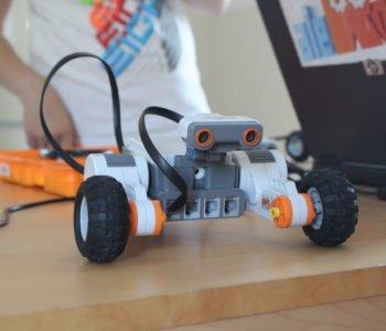 Mamo, tato! Zbudowałem robota! (warsztaty LEGO dla dzieci 7-13). Zapisy