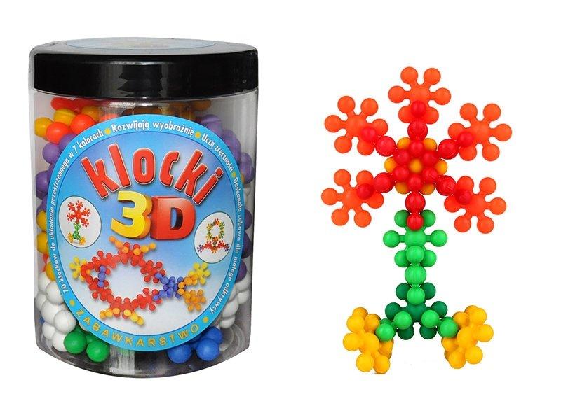 Klocki 3D konstrukcyjne w promocyjnej cenie!