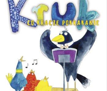 Kruk co kracze Pan Poeta książka dla dzieci
