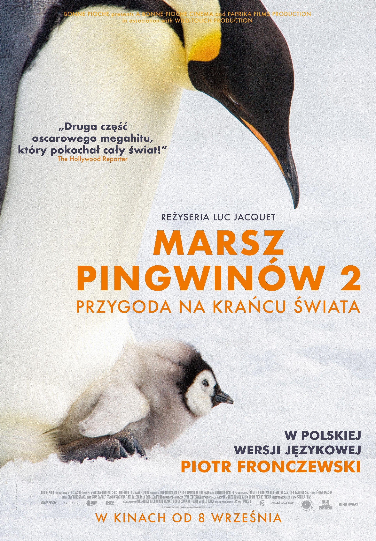 Marsz pingwinów 2 film w kinach plakat