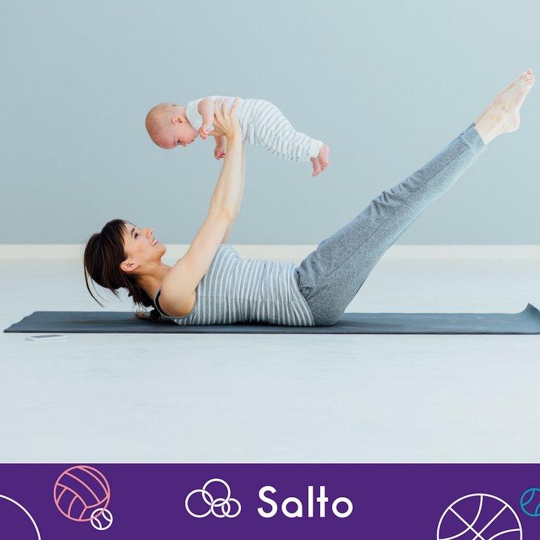 Mommy & baby fitness class w Salto Sport Kids