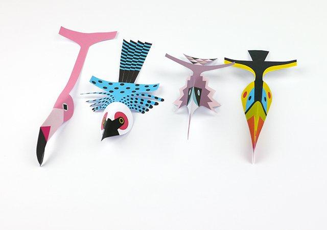 ptaszki szablony do wycinania
