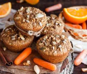 Marchewkowe muffinki jak zrobić przepis
