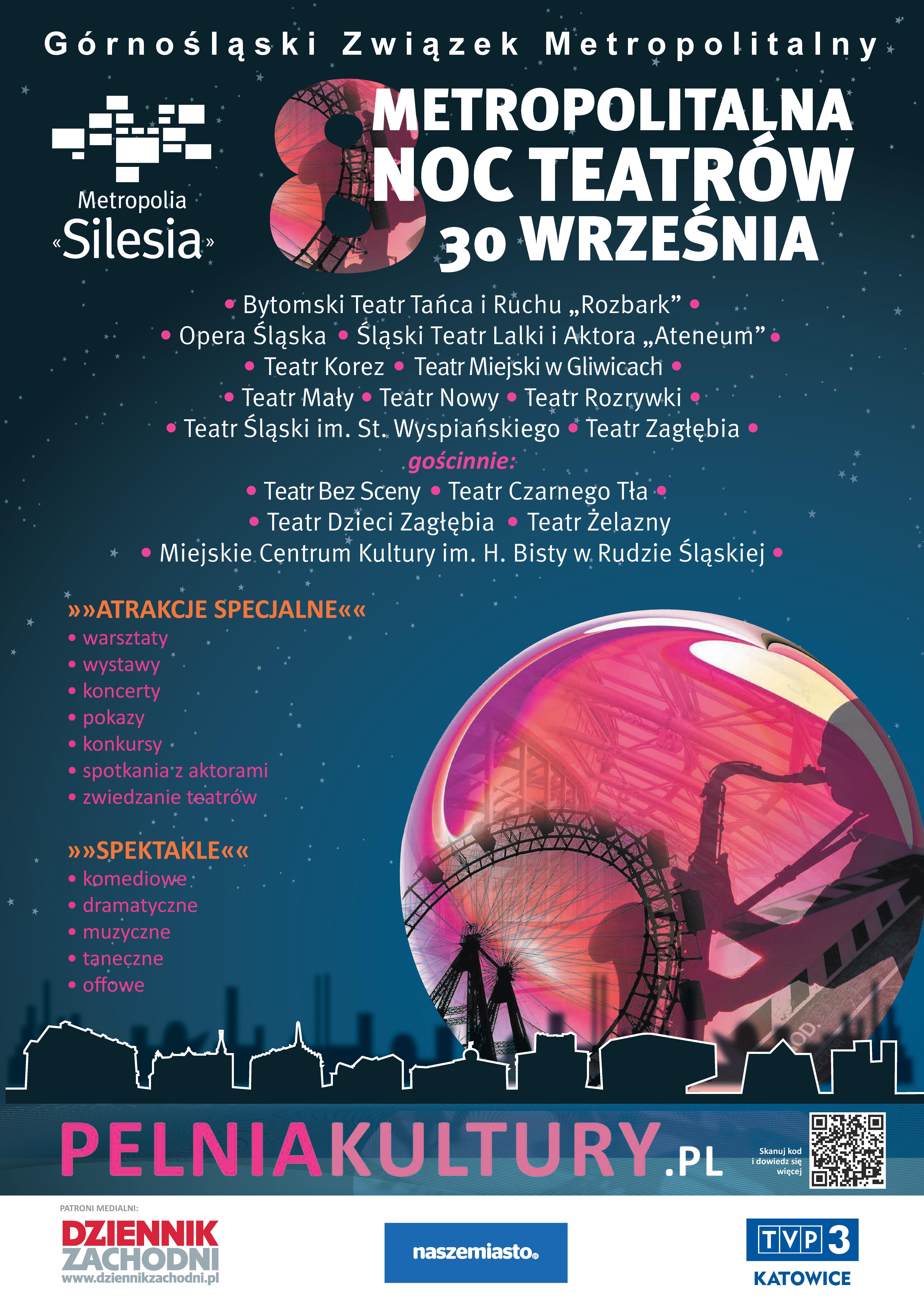 VIII Metropolitalna Noc Teatrów z Teatrem Małym - Tychy