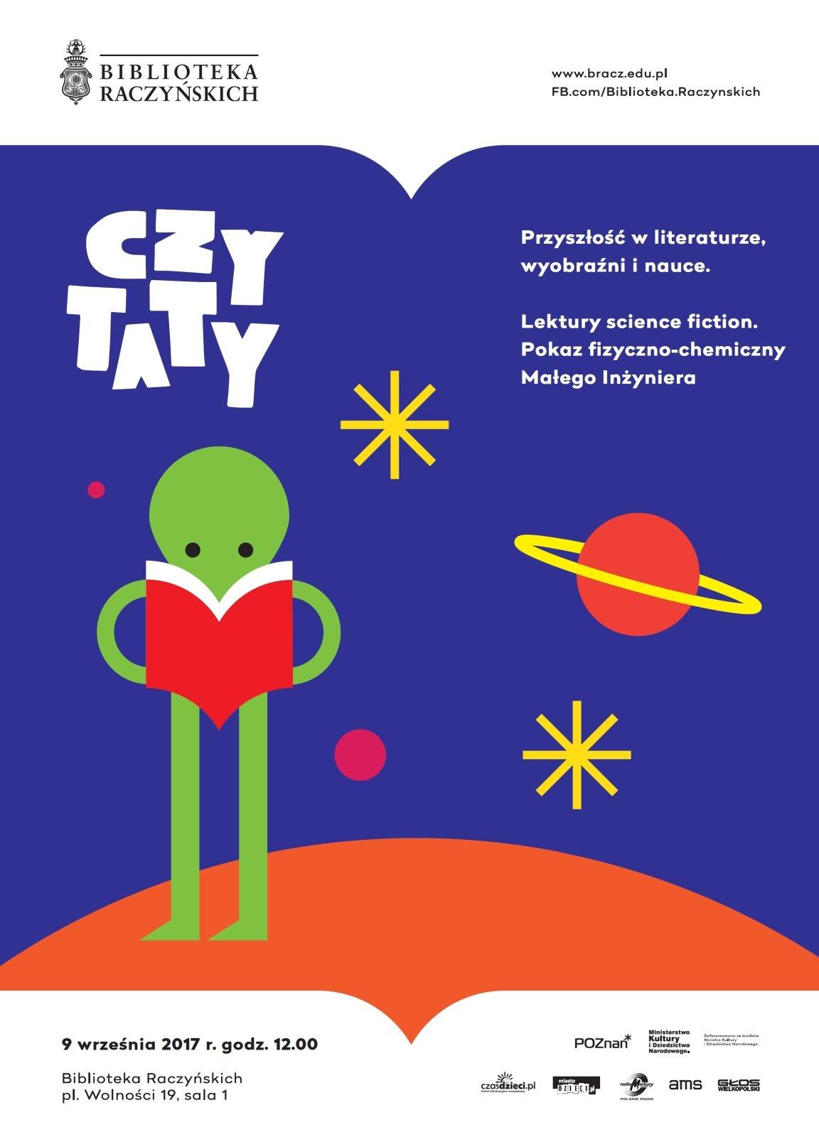 Przyszłość w literaturze, wyobraźni i nauce - kolejne spotkanie z cyklu CZYTATY