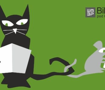 biblioteka pod kotem i myszą Gdańsk Logo