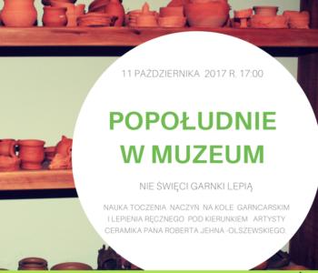 Popołudnie w Muzeum 11.10