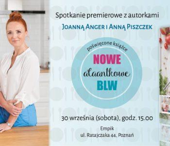 Premierowe spotkanie autorskie - Poznań