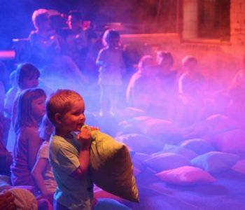 Warsztaty teatralno-taneczne Teatr Maksarada - atrakcje dla dzieci w Warszawie.
