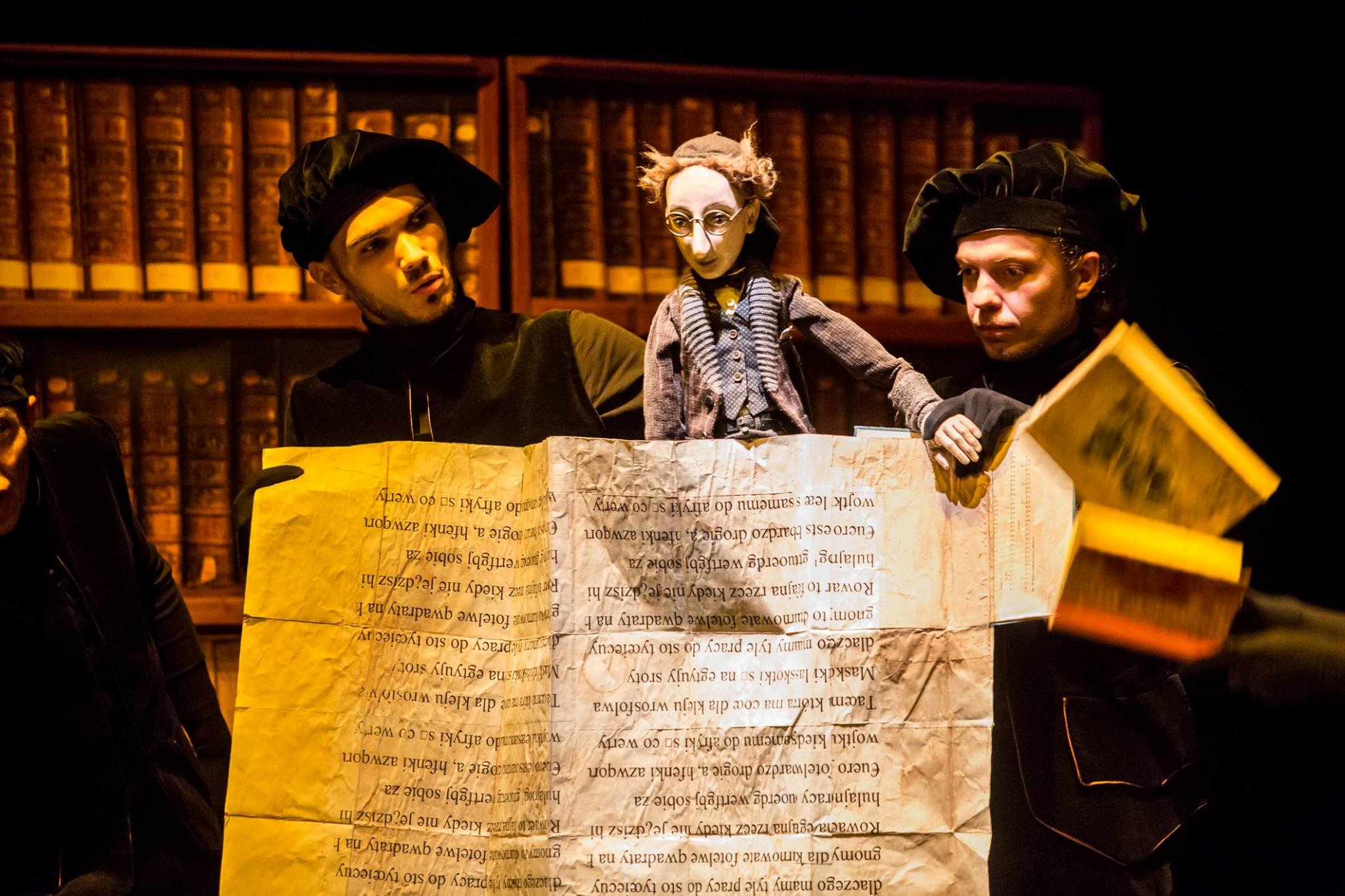 Pan Tobiasz i książki w Teatrze Animacji