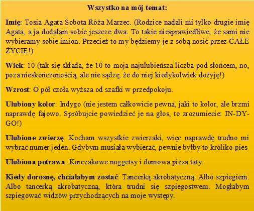 Tośka Marzec książka dla dzieci