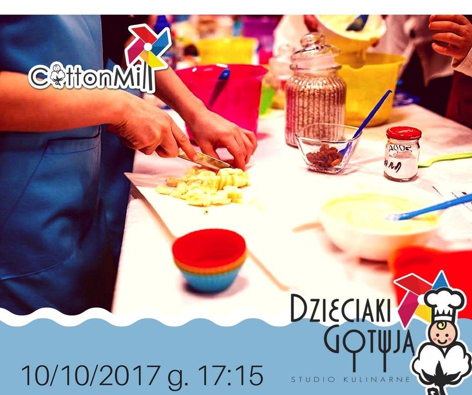 Cotton Mill Warsztaty kulinarne dla dzieci w Łodzi.