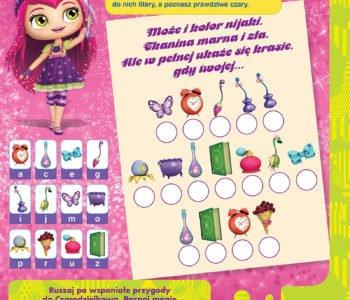 Małe czarodziejki wydrukuj zabawę dla dzieci