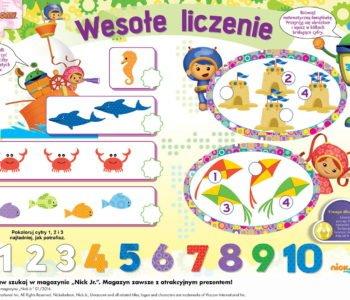 Umizoomi zabawy dla dzieci do druku liczby