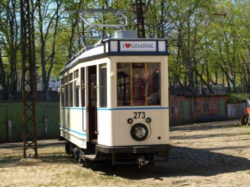 zabytkowy tramwaj gdansk Urząd Miasta