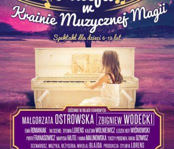Alicja w Krainie Muzycznej Magii – multimedialny spektakl