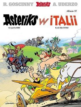 Asteriks w Italii, premiera komiksu