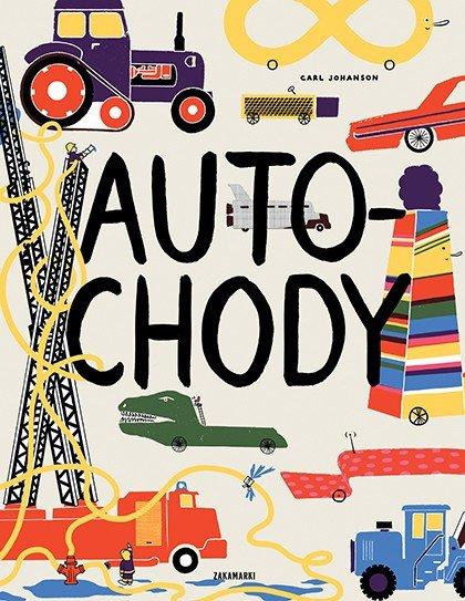 Autochody recenzja książki dla dzieci