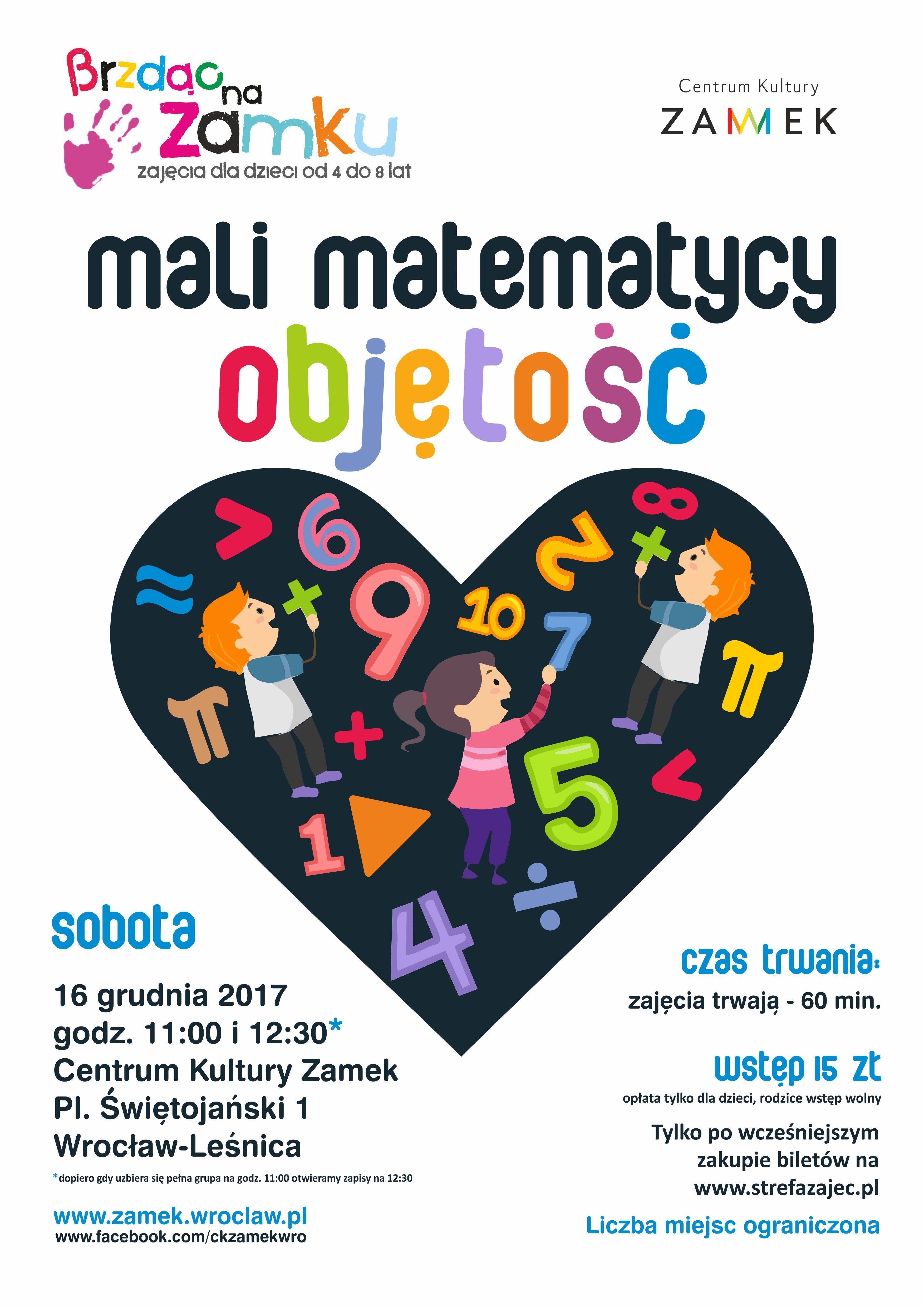 Finał matematycznej odsłony cyklu 'Brzdąc na zamku' w Centrum Kultury ZAMEK