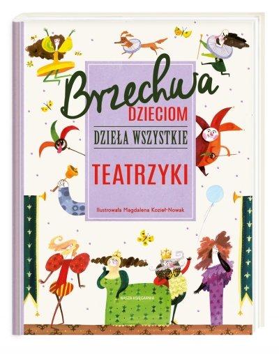 Brzechwa dzieciom teatrzyki książka dla dzieci
