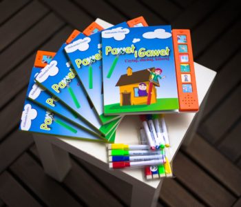 Paweł i Gaweł – książka dźwiękowa dla młodszych dzieci