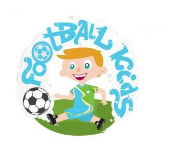Football kids logo