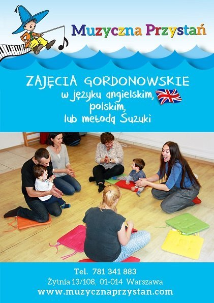 Zajęcia gordonowskie - umuzykalnienie dla maluchów