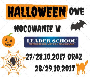Halloweenowe nocowanie z Leader School
