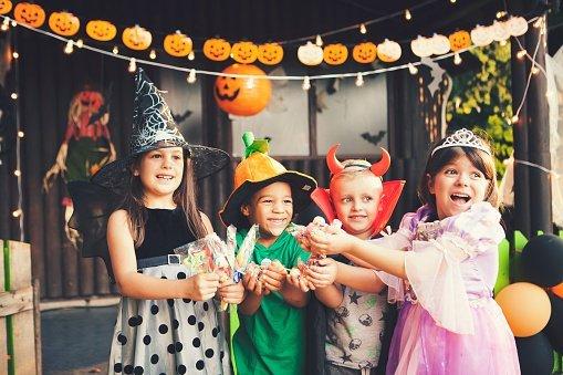 Halloween dla dzieci w mieście