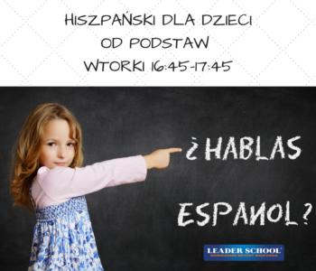 Bezpłatne zajęcia pokazowe z języka hiszpańskiego w Leader School Kraków