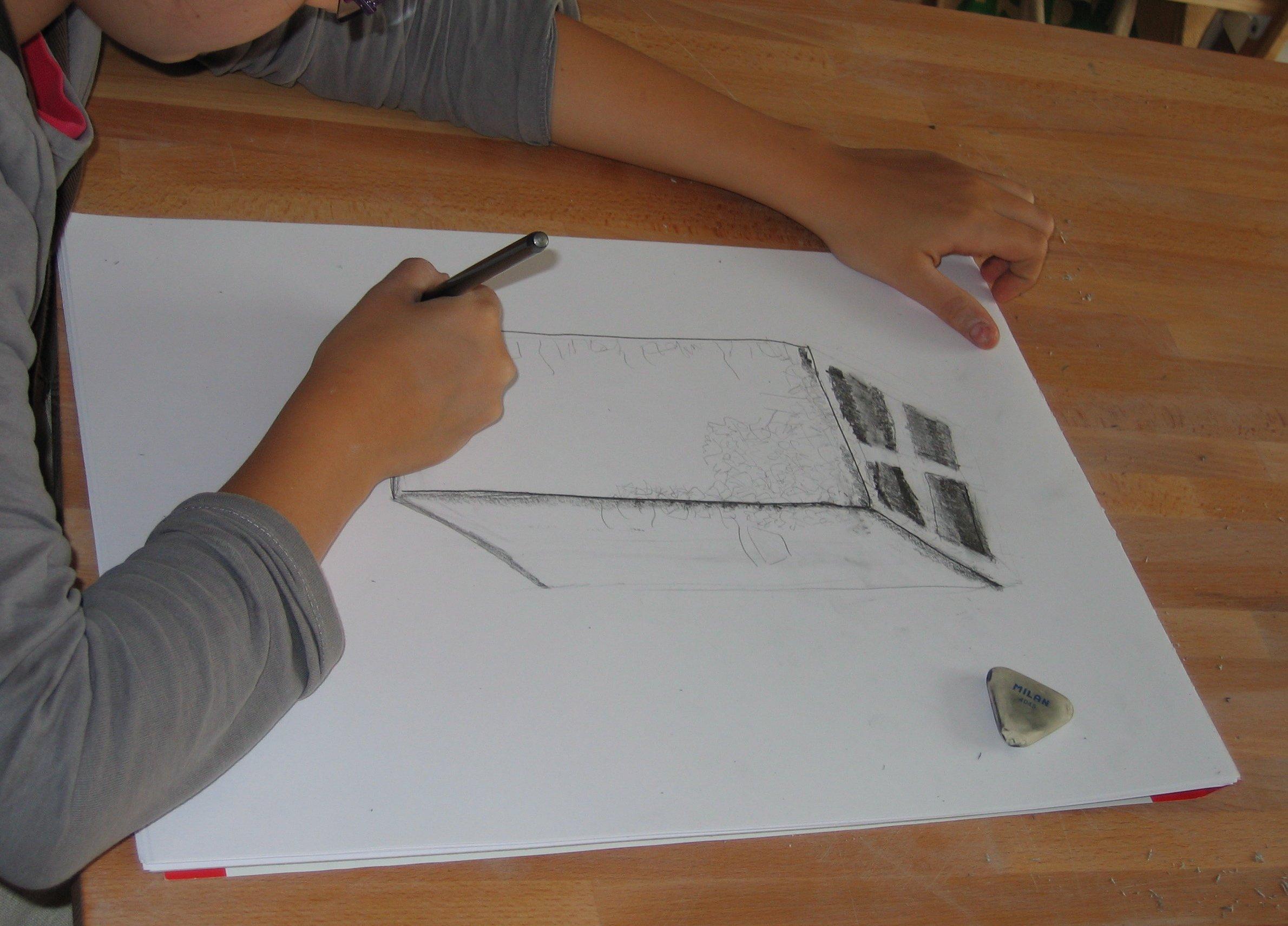 Warsztatyz podstaw rysunku dla początkujących w Pracowni Plastycznej Indica Studio