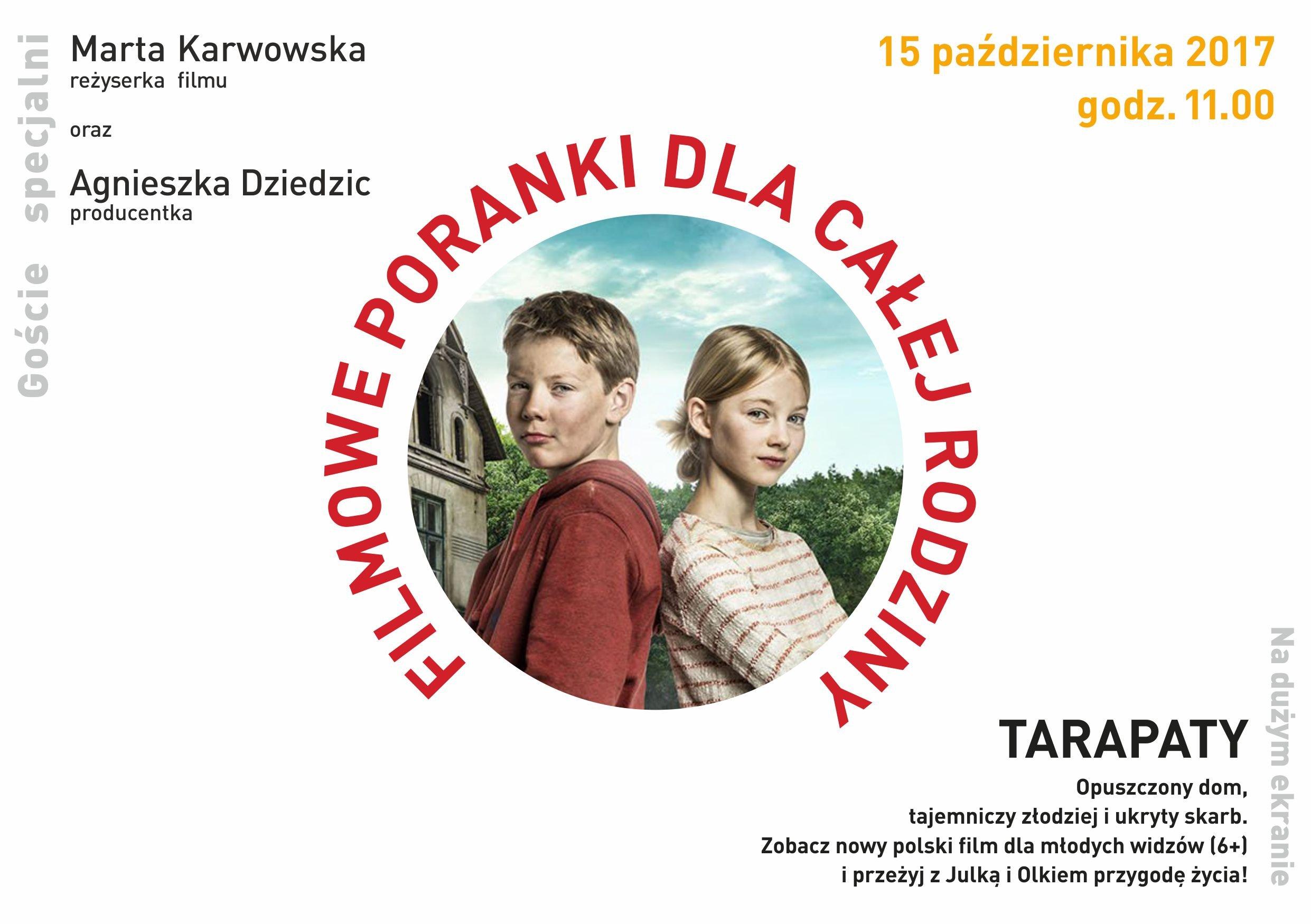 Tarapaty– pokaz specjalny z udziałem twórców. Gliwice