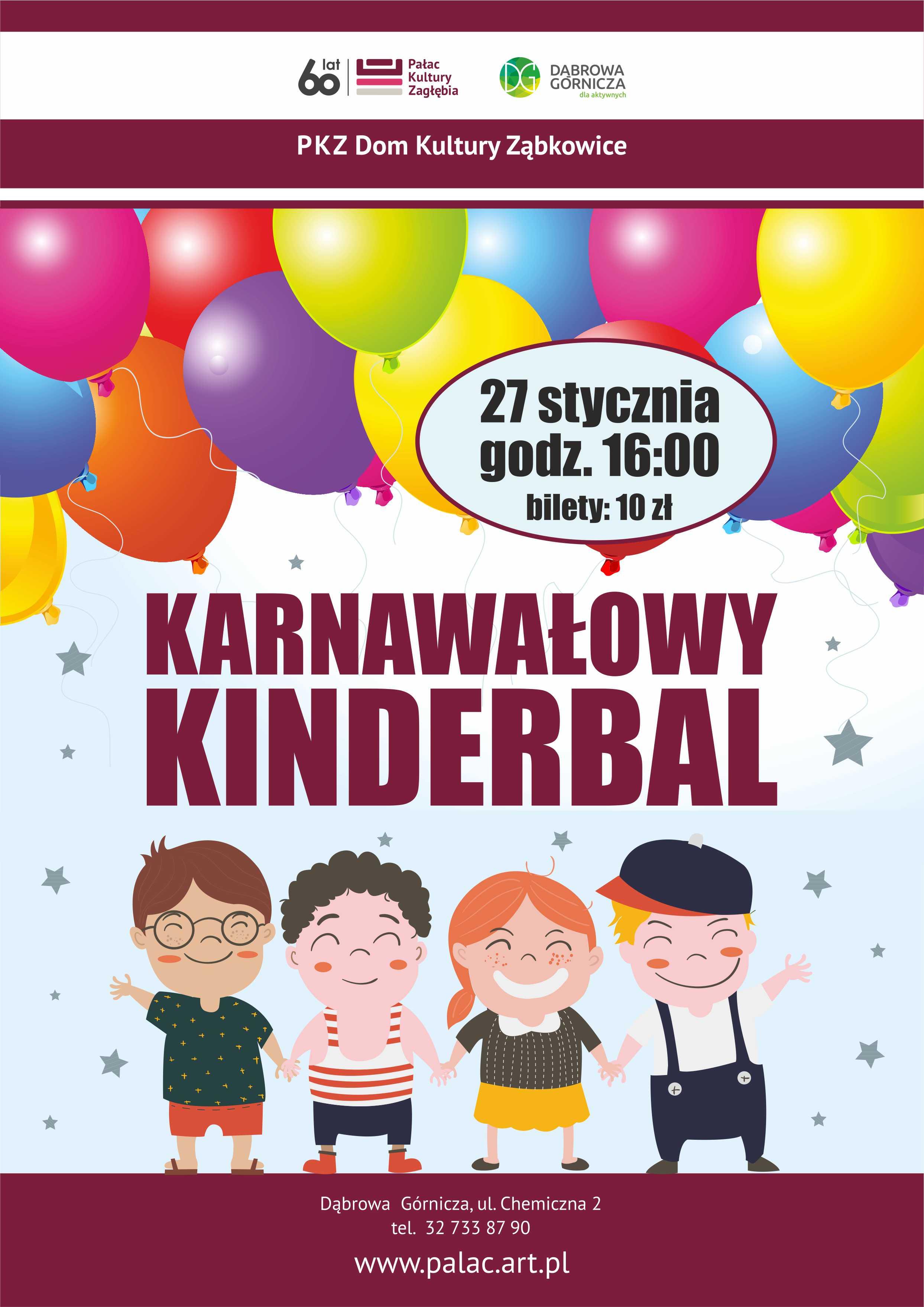 Karnawałowy Kinderbal