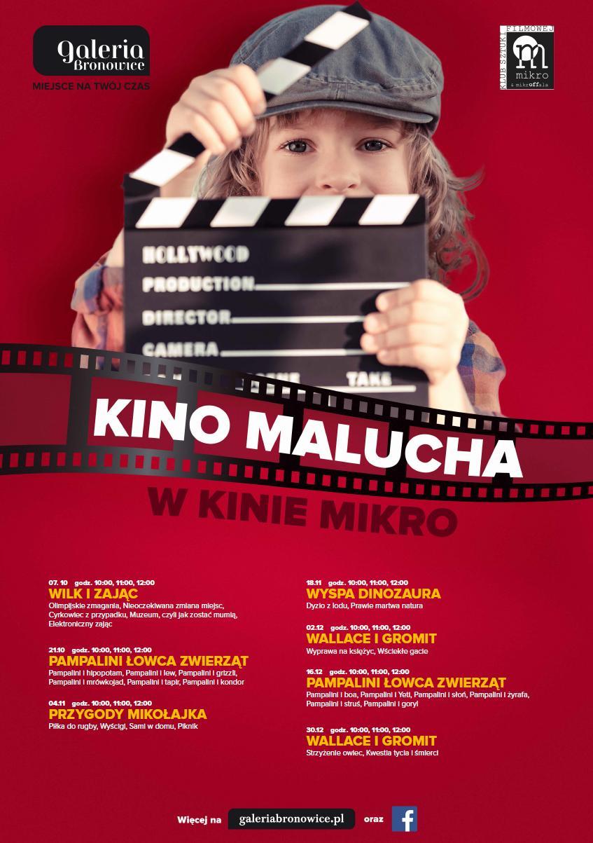 Kino Malucha w Galerii Bronowice - Zapoluj z Pampalinim