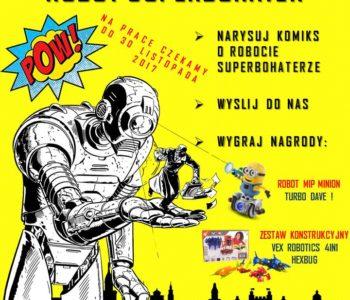 Robot Superbohater – konkurs komiksowy dla dzieci