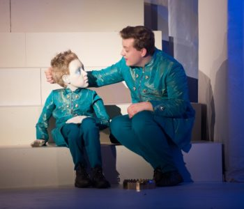 Król Maciuś I w Teatrze Lalka