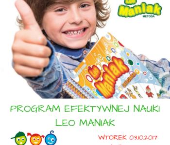 Bezpłatne Otwarte Warsztaty Leo Maniak