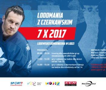 Lodomania z Czerkawskim w Łodzi