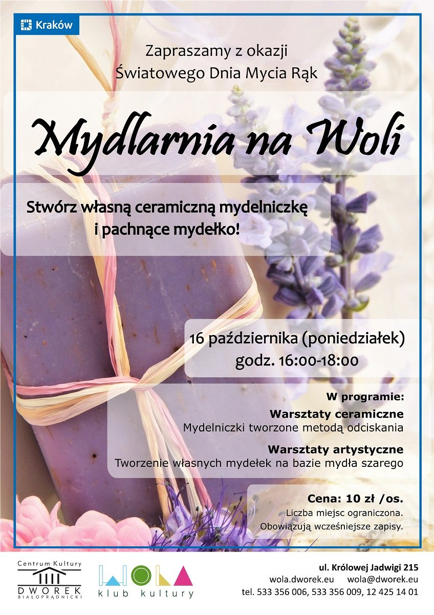 Mydlarnia na Woli - rodzinne warsztaty ceramiczne i artystyczne