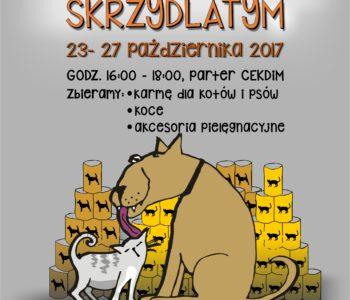 Zbiórka na zwierzaki dla Fundacji Pręgowanym i Skrzydlatym