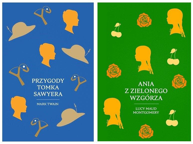 Przygody Tomka Sawera, Ania z Zielonego Wzgórza klasyka literatury dla dzieci