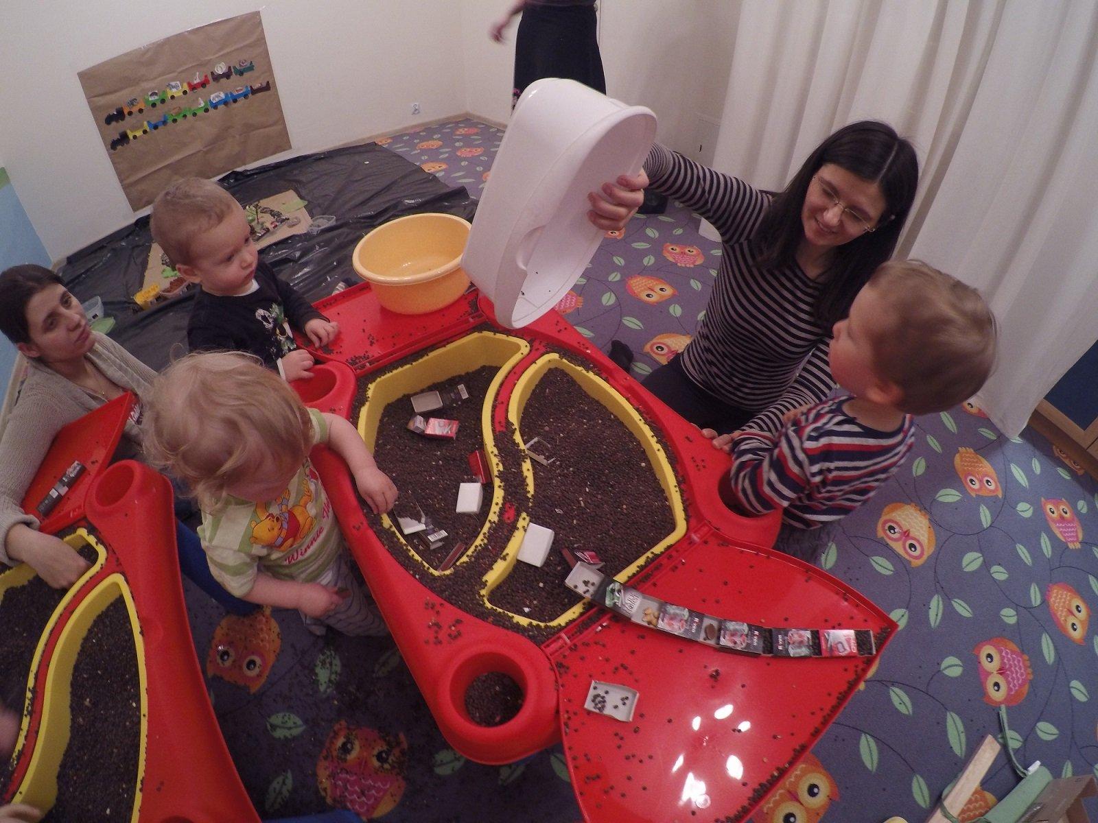 Sensoryka zajęcia ogólnorozwojowe: dzieci 1,5-3 lat oraz 3-5 lat